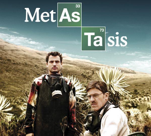 'Metástasis', la versión colombiana de 'Breaking Bad'Roberto Urbina Breaking Bad